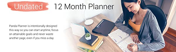 Reclaim your happiness with the Weekly 2.0 Planner from Panda Planner