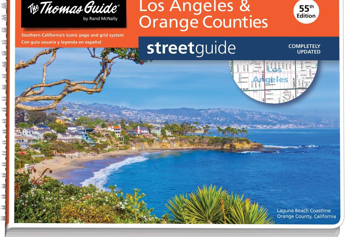 Thomas Guide: Los Angeles and Orange Counties Street Guide 55th Edition (Thomas Guide Los Angeles & Orange Counties Street Guide (Pro))