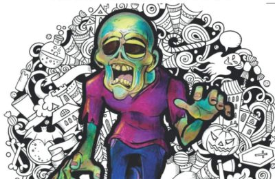 Zombies, They're Coming To Get You: Adult Coloring Book (Stress Relieving Creative Fun Drawings to Calm Down, Reduce Anxiety & Relax.Great Christmas Gift Idea For Men & Women 2020-2021)