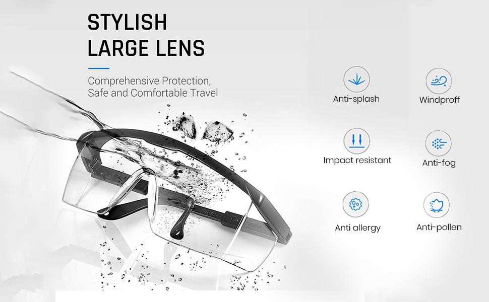 Stylish large lens