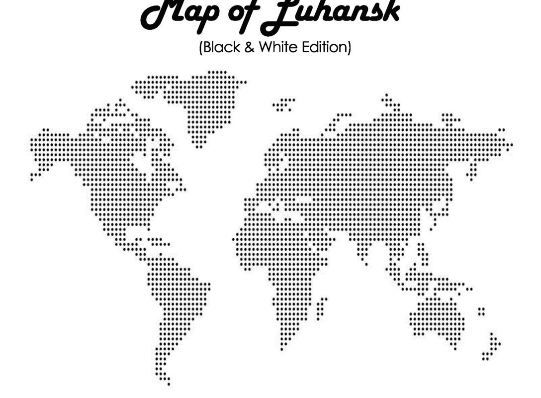 Travel Like a Local - Map of Luhansk: The Most Essential Luhansk (Ukraine) Travel Map for Every Adventure