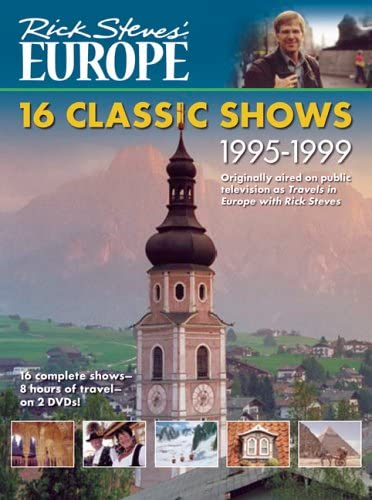 Rick Steves' Europe DVD: 16 Classic Shows 1995-1999 [VHS]