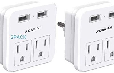 Schuko Germany France Travel Power Adapter (Type E/F Schuko – Germany, Russia)