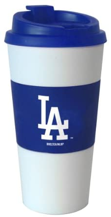 MLB Los Angeles Dodgers Sleeved Travel Tumbler, 16-Ounce