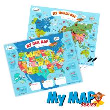 world map poster usa