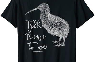 Kiwi: Talk Kiwi to me Love New Zealand Travel Gift Women Men T-Shirt