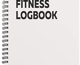 Fitness Logbook Lite: Undated Workout Journal – 6 x 8 inches – Thick Paper, Durable Laminated Cover, Round Corners, Sturdy Binding – Stylish, Minimalistic and Easy-to-Use Gym Log Book