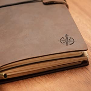 Leather Travelers Notebook