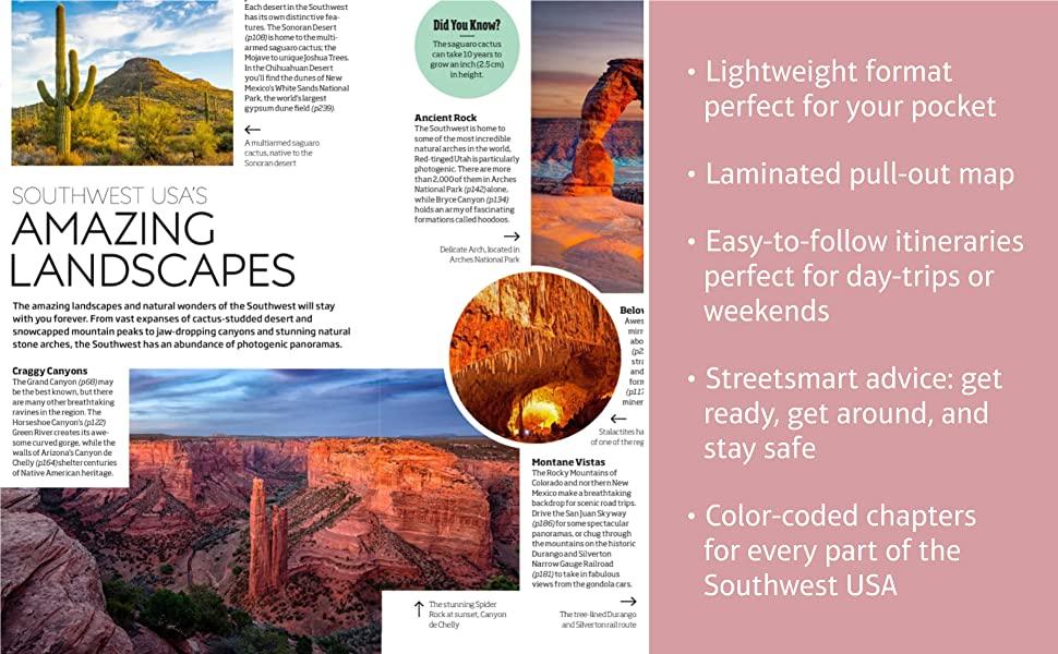 DK Eyewitness Books, Travel guide Southwest USA