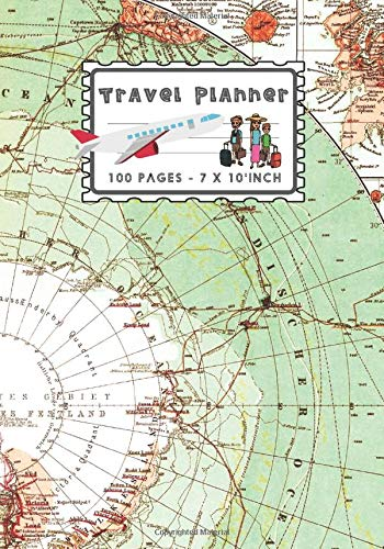 Travel Planner: A Travelling Journal To Write In Trips Information and other details (Vintage World Map Cover)