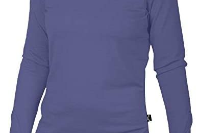 Merino 365 Women's 100% New Zealand Merino, Long Sleeve Top, Thumbloops