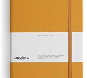 The Anecdote Daily Planner 2021. A Daily, Weekly & Monthly Planner. Achieve Your Goals. Establish Yearly, Monthly, Weekly & Daily Workflow, A5 size, Hardcover Daily Planner. Start Anytime. MUSTARD