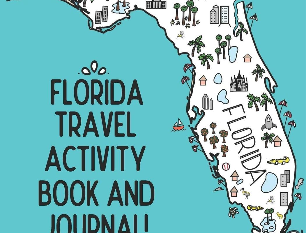 Florida Travel Activity Book and Journal!