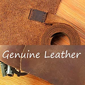genuine leather real crazy horse hand made unique antique hand crafted artisan distressed rustic
