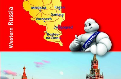 Michelin Western Russia Road and Tourist Map 805: From Baltic to Black Sea