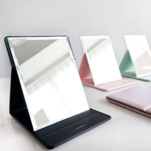 best travel mirror, desk mirror, portable mirror, makeup mirror, folding mirror, standing mirror