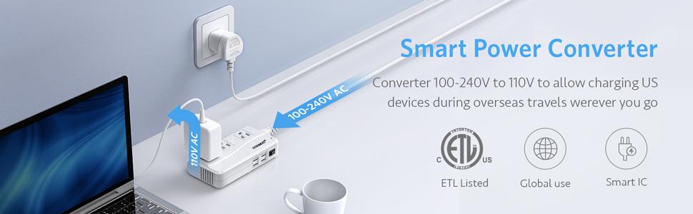 UK voltage converter adapter