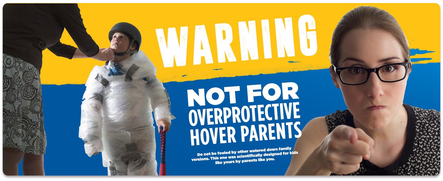 hover, warning