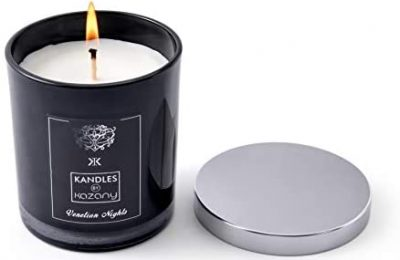 Kandles by Kazany | Venetian Nights | Italy | Travel Inspired Luxury Scented Candle | 8.11 oz