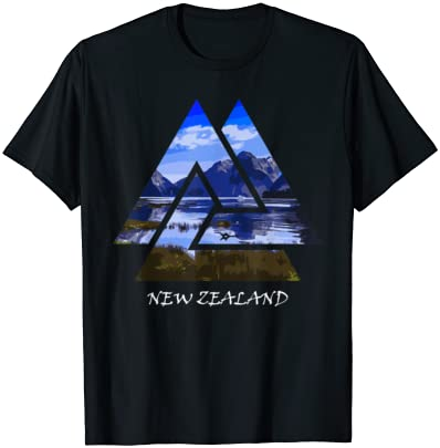 New Zealand Milford Sound Travel Gift T-Shirt
