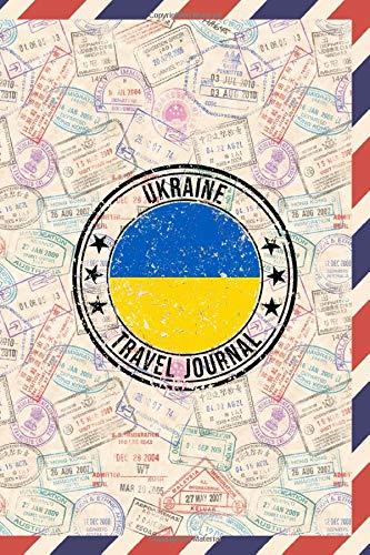 Ukraine Travel Journal: 6x9 Travel planner I Road trip planner I Dot grid journal I Travel notebook I Travel diary I Pocket journal I Gift for Backpacker