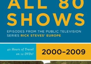 Rick Steves' Europe All 80 Shows DVD Boxed Set 2000-2009
