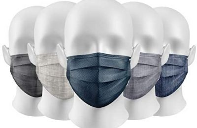 Co.Protect Premium Disposable Adult Face Mask Looks Like Fabric 10-Pack