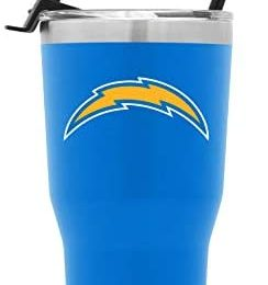 Simple Modern NFL 30oz Tumbler with Flip Lid and Straw Insulated Stainless Steel Travel Mug Classic