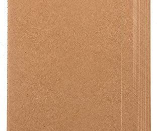 Kraft Paper Notebook Blank Lined Journal (4 x 8 in 12 Pack)