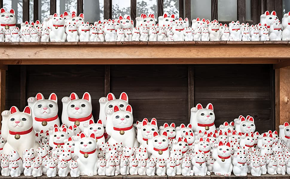 catland, cat culture, japan, ceramics