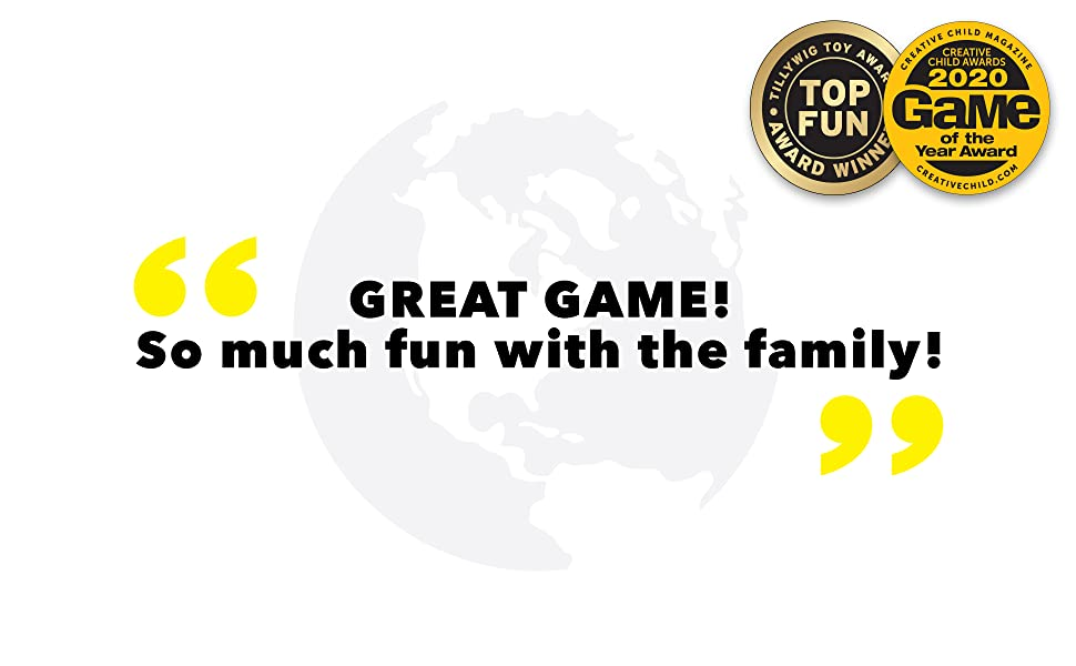 great geography card game for the whole family