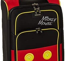 American Tourister Disney Softside Luggage with Spinner Wheels, Mickey Mouse Pants, Carry-On 21-Inch