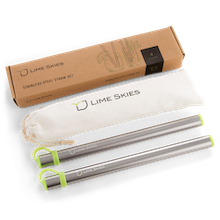 Metal Straws With Case, Reusable Straws With Case, Stainless Steel Straws With Case